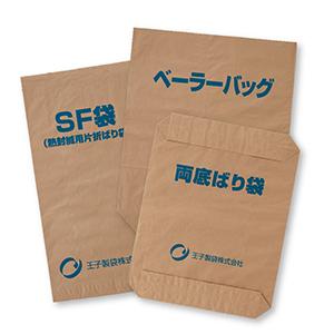 クラフト重包装紙袋|王子製袋株式会社