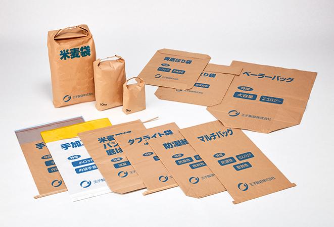 クラフト重包装紙袋製品